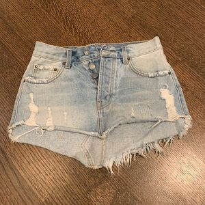 Denim mini skirt from LF